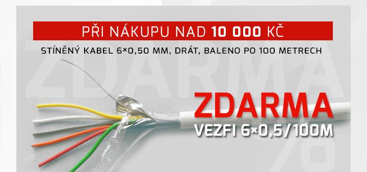 |  Při nákupu nad 10 000 Kč - stíněný kabel zdarma  |