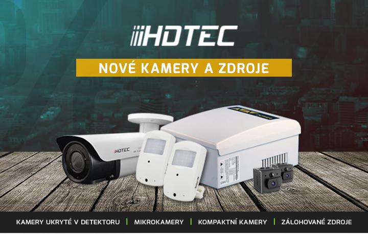 |  Nové kamery a zdroje HDTEC  |