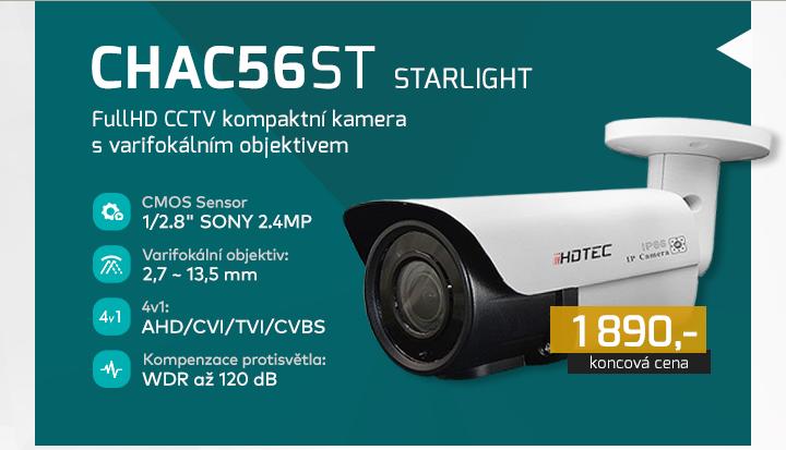 |  CHAC56ST - FullHD kompaktní kamera  |