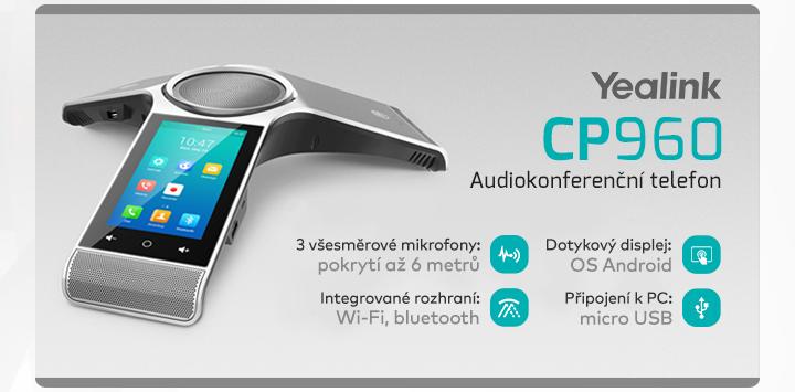 |  Audiokonferenční telefon CP960 |