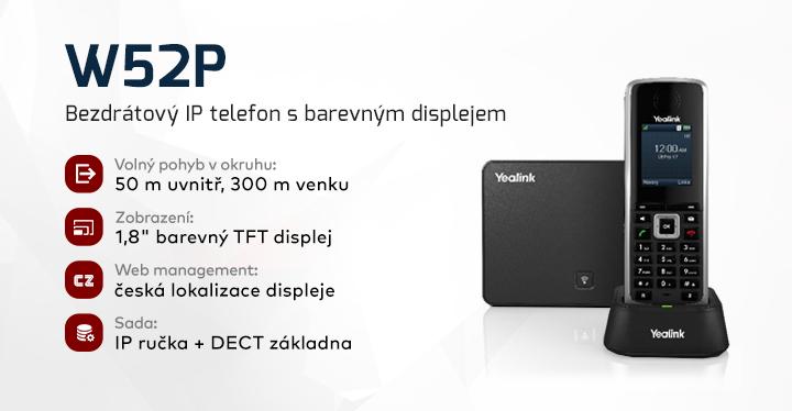 |  Bezdrátový IP telefon  |
