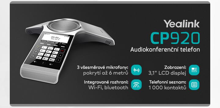 |  Audiokonferenční telefon CP920  |