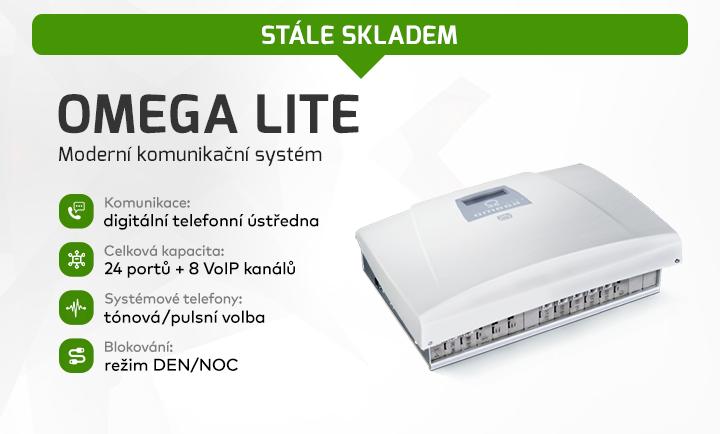 |  Omega Lite - telefonní ústředna  |