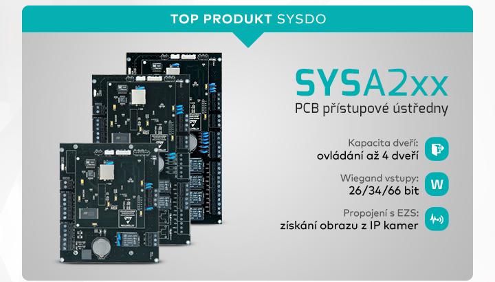|  SYSA2xx - PCB přístupové ústředny  |