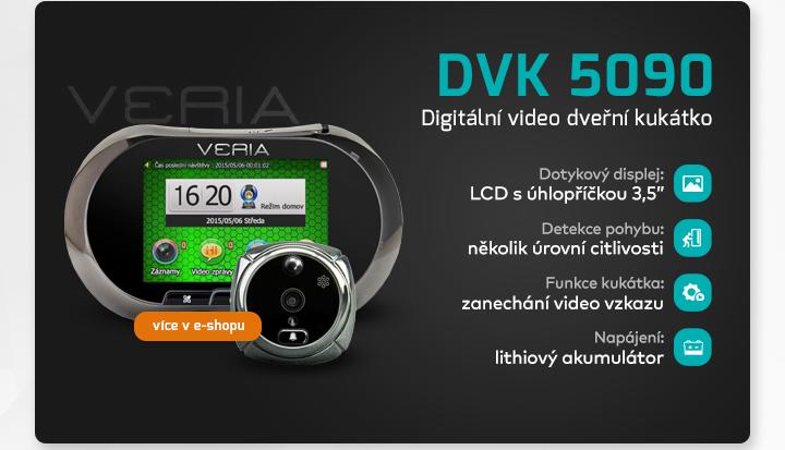 |  DVK 5090 - digitální video kukátko  |