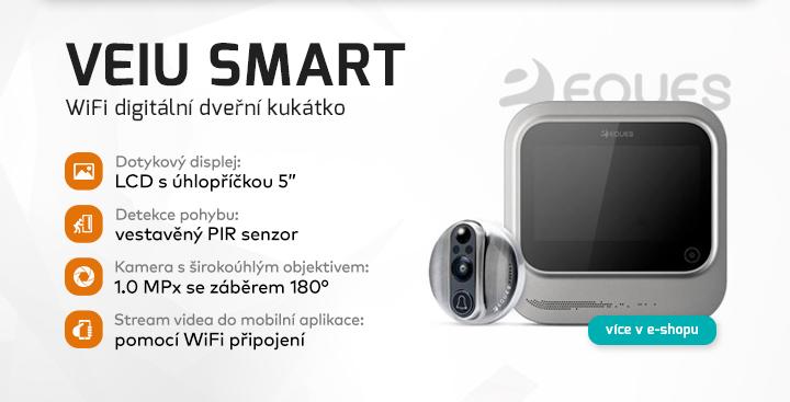 |  Veiu Smart - WiFi digitální kukátko  |