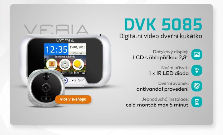 |  DVK 5085 - digitální dveřní kukátko  |