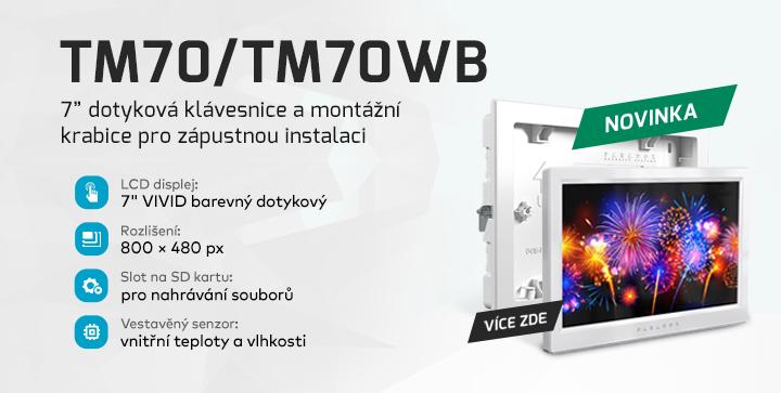 |  Klávesnice TM70 a box pro její instalaci  |