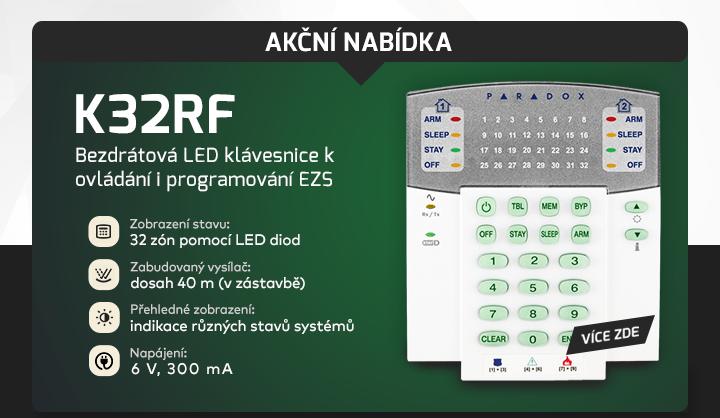 |  Akční nabídka na klávesnici K32RF  |