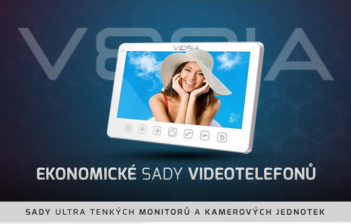 |  Ekonomické sady videotelefonů Veria  |
