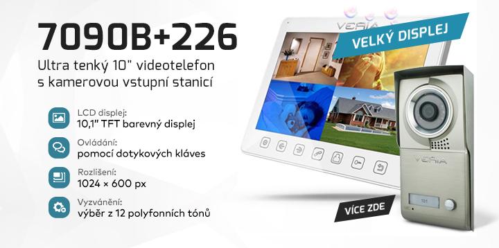 "|  Ultra tenký 10"" videotelefon 7090B+226  |"