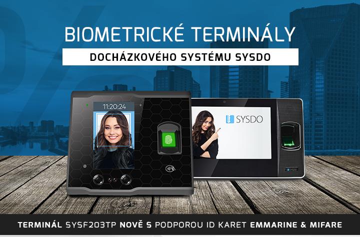 |  Biometrické terminály SYSDO  |