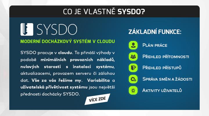 |  Docházkový systém SYSDO  |